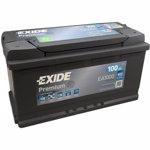 EXIDE Baterie auto Premium 100Ah, 900A