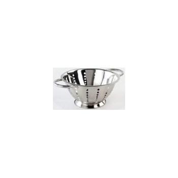 VANORA strecuratoare din inox, cu 2 manere, diametru:24 cm