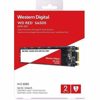 WESTERN DIGITAL SSD M.2 2280 2TB/RED WDS200T1R0B WDC