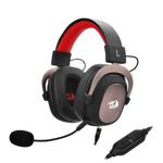 Casti gaming Redragon Zeus 2, surround 7.1 virtual, difuzoare 53mm, USB & Jack 3.5mm, Negru