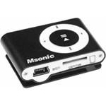 MP3 Player Msonic miniUSB Aluminiu Negru mm3610k