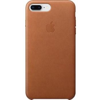 Husa de protectie Apple pentru iPhone 8 Plus / iPhone 7 Plus, Piele, Saddle Brown