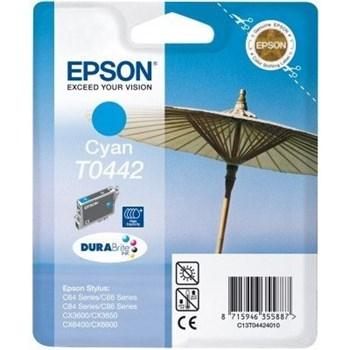 Cartus Epson C64 C66 C84 C86 CX3600 Cyan High Capacity c13t04424010