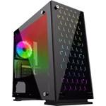 Carcasa Gamemax H605-TB, Mini Tower, fara sursa, mATX, Black
