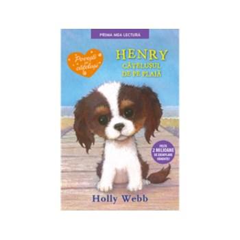 Henry, catelusul de pe plaja.