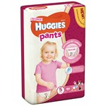 Scutece-chilotel Huggies Mega pack 5 Girl 12-17 kg 44 buc