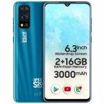 Telefon mobil, iHunt, S20 Plus Apex 2021, Dual SIM, 16GB, 2GB RAM, 3G, Blue