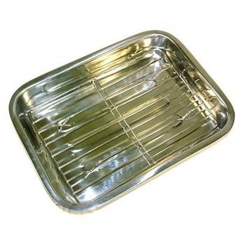 Tava din inox pentru lasagna KingHoff lungime 41 cm kh-4363
