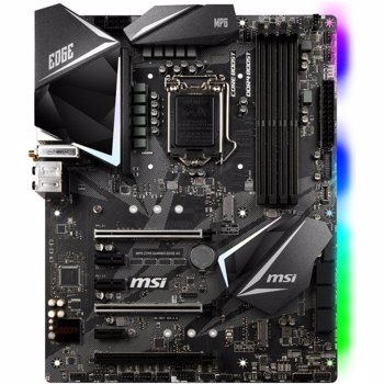 Placa de baza MSI MPG Z390 GAMING EDGE AC, Intel Z390, LGA 1151 v2, DDR4, ATX