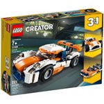 LEGO 31089 Creator 3in1 Sunset Track Racer Sports Race Car and Speed Boat Building Set, Vehicle Toys for Kids 7 Years Old and Older