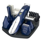 Set de ingrijire personala REMINGTON All In One PG6045, acumulator, 40 min, albastru