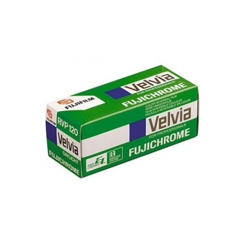 Fujifilm Fujichrome Velvia 50 RVP - film diapozitiv color lat (ISO 50, 120)