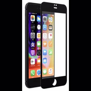Folie Devia Sticla Van Full iPhone 8 7 Black 0.26mm 9H folie spate inclusa dvvfiph8bk