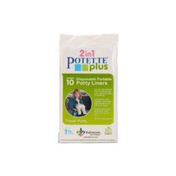 Pungi biodegradabile de unica folosinta pentru olita portabila Potette Plus - 30 buc/set