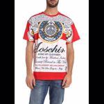 Moschino Moschino X Budweiser T-Shirt In Red Culoarea Red