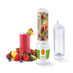 Mini Blender Concept SM-3350 180 W Smoothie 2 recipiente Alb/ Verde sm3350