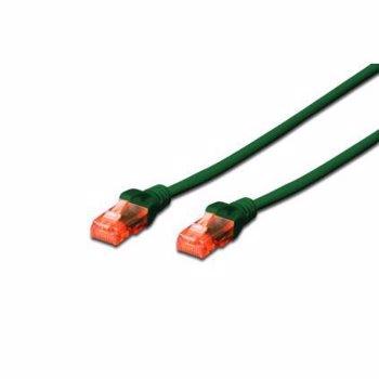 Cablu UTP Digitus Premium Patchcord Cat 6 3m Verde