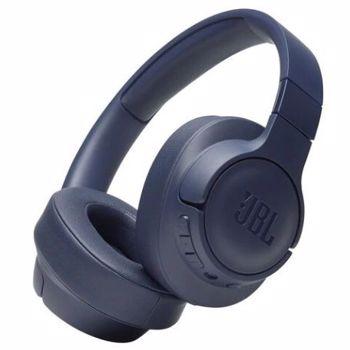 Casti JBL Tune 700BT, Bluetooth, Over-ear, Microfon, albastru