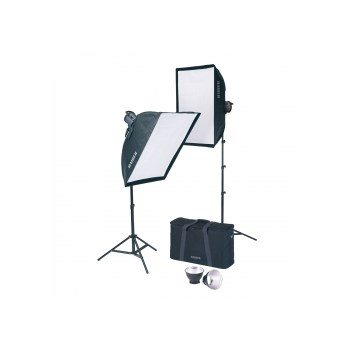 Set 2 lumini de studio Kaiser Studiolight 1010 1000W 1052609