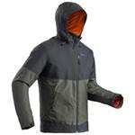 Jachetă drumeţie pe zăpadă SH100 X-WARM Negru Bărbaţi QUECHUA