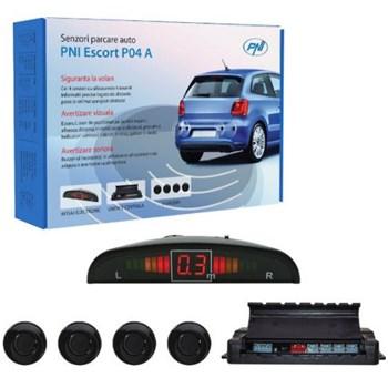 Senzori parcare auto PNI Escort P04 A, cu 4 receptori