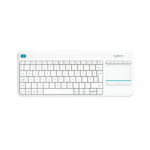 Tastatura wireless Logitech K400 Plus cu taste multimedia