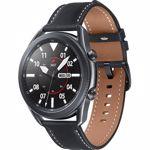 """Smartwatch Samsung Galaxy Watch 3 SM-R840, Procesor Dual-Core 1.15GHz, Super AMOLED 1.4"""", 1GB RAM, 8GB Flash, Bluetooth, Wi-Fi, Carcasa otel, Bratara metalica 45mm, Rezistent la apa si praf, Tizen (Gri)"""