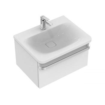 Lavoar Ideal Standard 60cm gama Tonic II, alb, 1 orificiu baterie