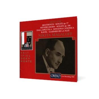 Nikita Magaloff - Beethoven • Dallapiccola • Mendelssohn • Ravel