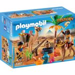 Playmobil History - Tabara jefuitorilor de morminte