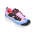 Pantofi sport SKECHERS multicolor, Ice Dlites Snow Spark, din piele naturala
