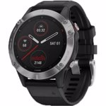 Ceas Smartwatch Garmin Fenix 6, 47 mm, Silver/Black
