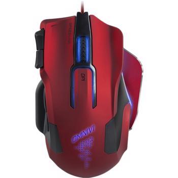Mouse gaming Speedlink OMNIVI, red-black SL-680006-BKRD