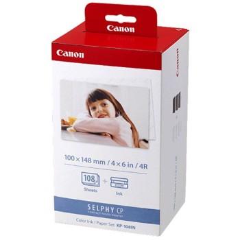 Cartus cerneala Canon KP-108IN + Hartie Foto