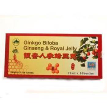 Ginkgo Biloba+Ginseng+Roy Jelly L&L Plant, 10 fiole x 100ml
