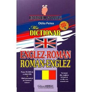 Dictionar Englez-Roman, Roman-Englez - Otilia Felea