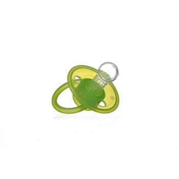 Suzeta silicon Minut Baby verde