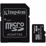 KINGSTON Card 8GB microSDHC UHS-I Class 10 Industrial Temp Card + SD Adaptor