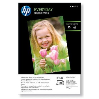 Hartie foto HP Everyday CR757A, 10 x 15cm, 100 coli
