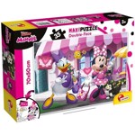 Puzzle de colorat maxi - Minnie si Daisy la cumparaturi (35 piese), LISCIANI