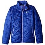 Under Armour Kids UA ColdGear Jacket (Big Kids) Culoarea Pacific/Pacific/Glacier Gray