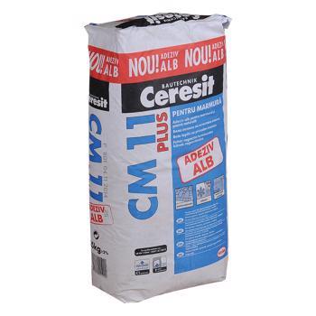 Adeziv marmura si piatra naturala Ceresit CM 11 Plus, pentru interior/exterior, 25 kg