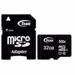 Card de Memorie Team Group Micro SDHC 32GB UHS-I cu Adaptor tusdh32gcl10u03