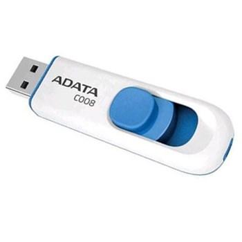USB Flash Drive ADATA Classic Series C008 8GB USB2.0 Negru ac008-8g-rkd
