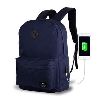 Rucsac cu port USB My Valice SPECTA Smart Bag, albastru închis