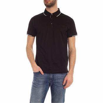 Karl Lagerfeld Tone-On-Tone Logo Polo Shirt In Black 755001 501200 990 Culoarea Black BM7445823