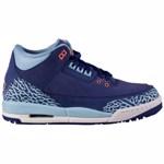 Nike Air Jordan 3 Retro GG 441140 Culoarea ALBASTRE/ALBASTRU MARIM