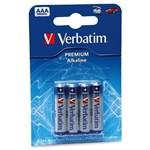 Acumulator Verbatim Premium, 4x AAA LR03, blister