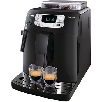 Espressor automat Philips Saeco Intelia HD8751/19, 1900 W, 1.5 L, 15 bar, Negru