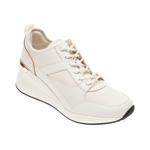 Pantofi sport ALDO albi, Thrundra100, din material textil si piele ecologica